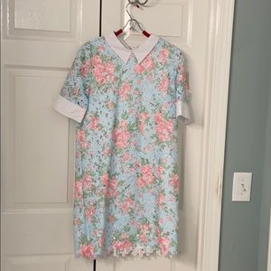 Floral English factory dress